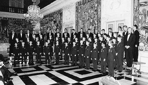 Copenhagen Royal Chapel Choir, Christiansborg Castle